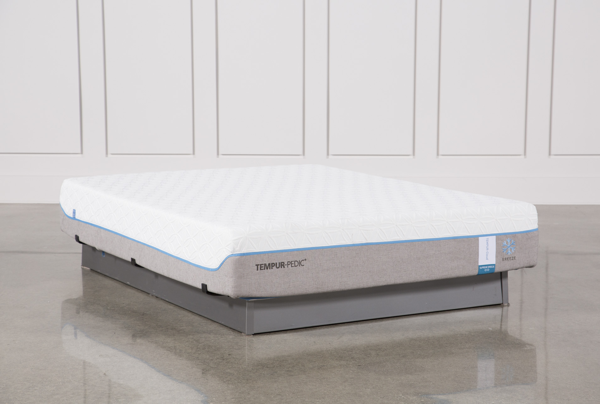 Display Product Reviews For TEMPUR PEDIC CLOUD SUPREME BREEZE 2.0 QUEEN  MATTRESS