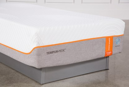 Tempur Pedic Contour Elite Breeze 2 0 California King Split Mattress Living Spaces