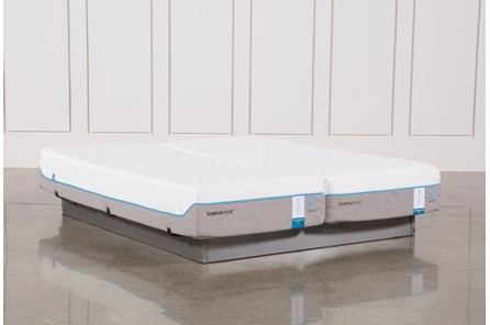 Tempur-Pedic Cloud Supreme Breeze 2.0 East King Split Mattress Set - Main