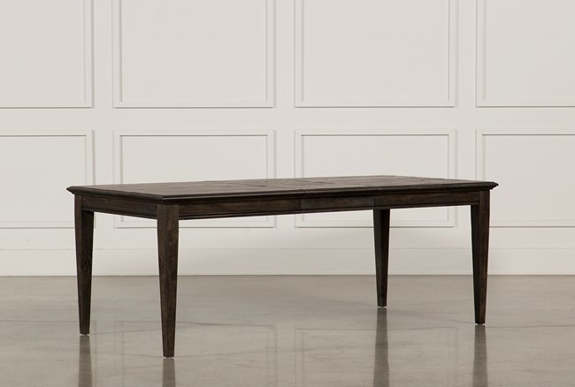 Valencia 64 Inch Extension Rectangle Dining Table - 360