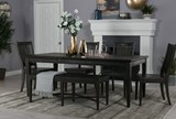 Valencia 64 Inch Extension Rectangle Dining Table - Room