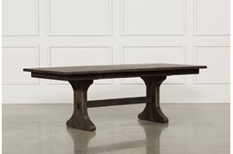 Valencia 72 Inch Extension Trestle Dining Table