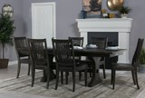 Valencia 72 Inch Extension Trestle Dining Table - Room