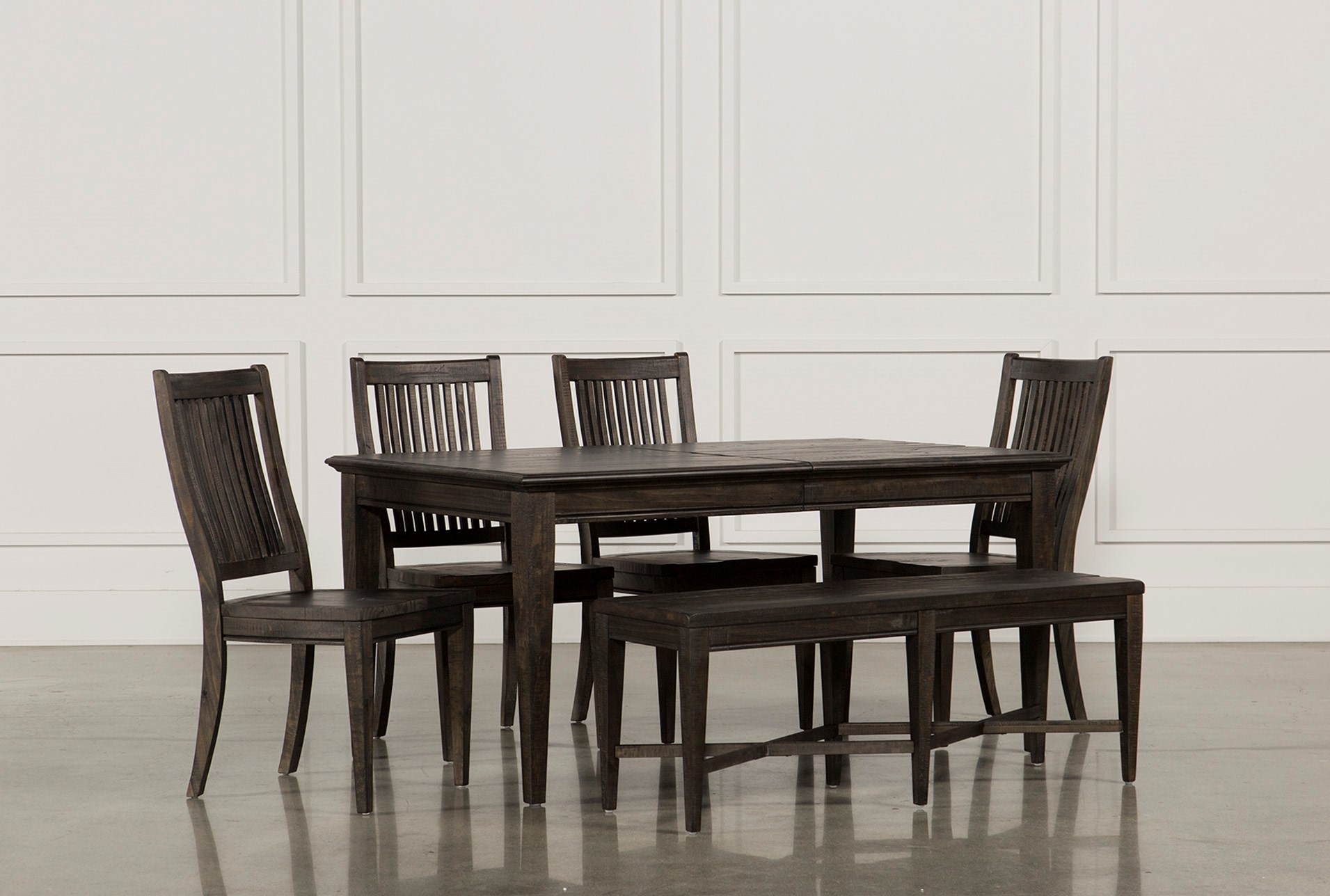 Valencia 64 Inch 6 Piece Extension Dining Set | Living Spaces