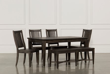 Valencia 64 Inch 6 Piece Extension Dining Set