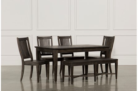 Valencia 64 Inch 6 Piece Extension Dining Set - Main