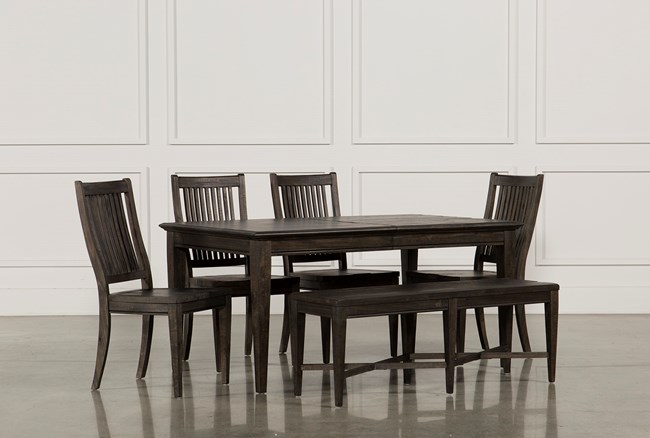 Valencia 64 Inch 6 Piece Extension Dining Set - 360