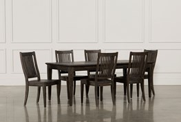 Valencia 64 Inch 7 Piece Extension Dining Set