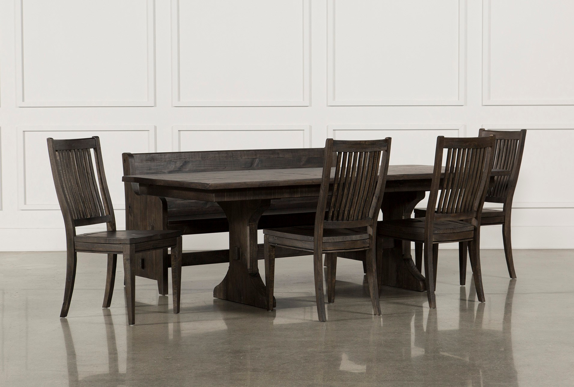 Valencia 72 Inch 6 Piece Dining Set  Living Spaces