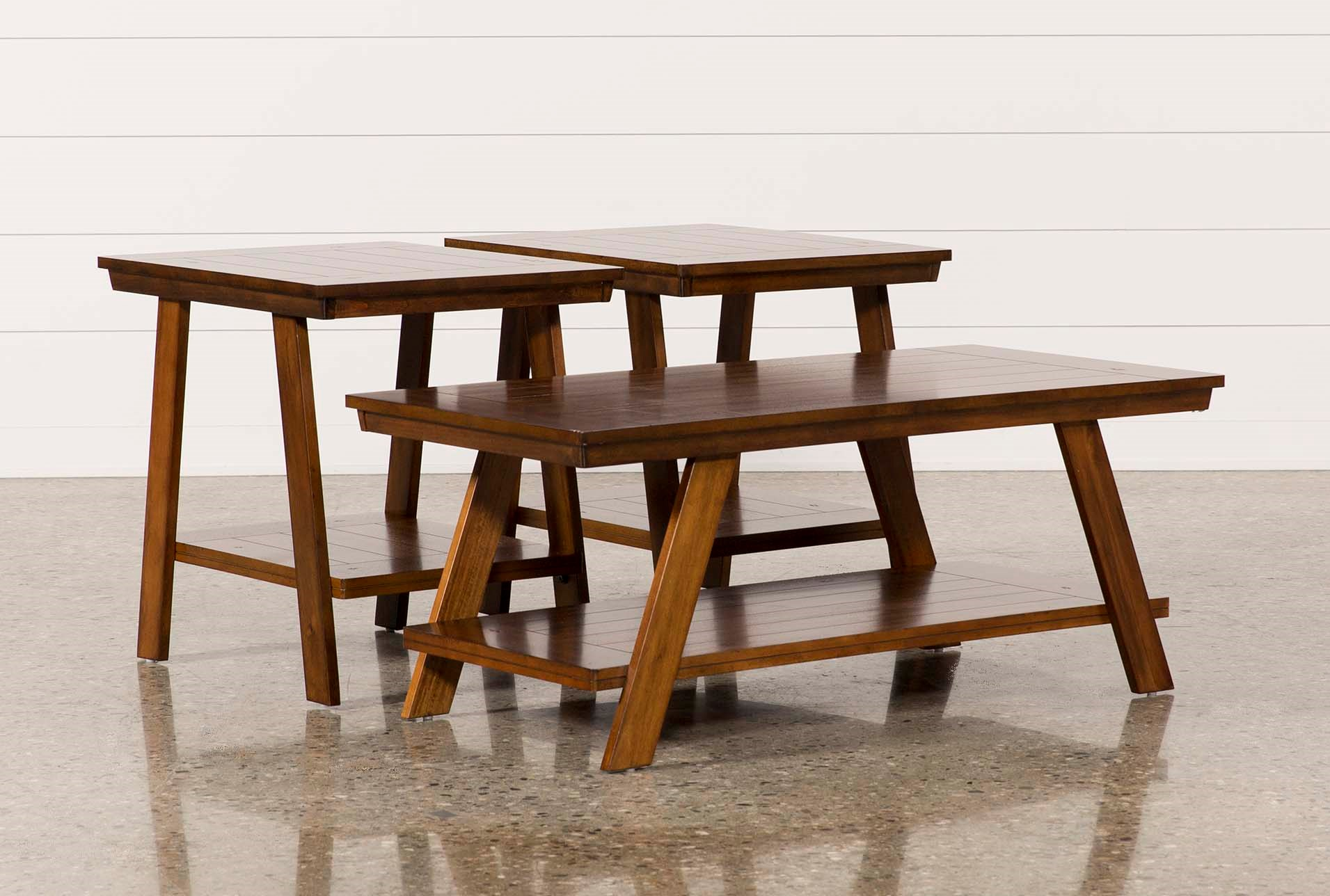 Shaw 3 In 1 Pack Tables | Living Spaces