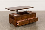 Gus Lift-Top Cocktail Table - Left