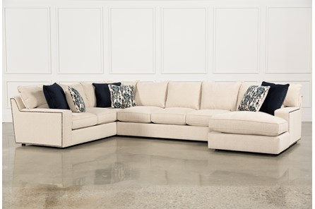 Rennell 3 Piece Sectional W/Raf Chaise - Main