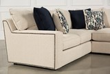 Rennell 3 Piece Sectional W/Raf Chaise - Back