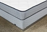 Carly Full Mattress W/Foundation - Top