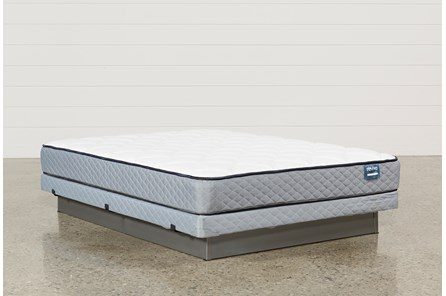 Carly Queen Mattress W/Low Profile Foundation - Main