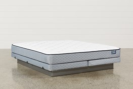Carly Eastern King Mattress W/Low Profile Foundation