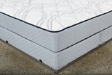 Emily Eastern King Mattress W/Low Profile Foundation - Top