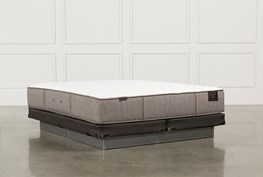 Scarborough Ultra Firm Cal King Mattress W/Low Profile Foundation