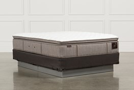 Scarborough Firm Euro Pillow Top Queen Mattress W/Foundation
