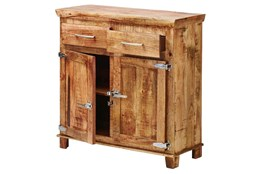 Sawan Finish 2-Drawer Icebox Server