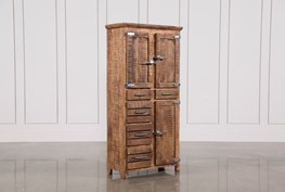 Sawan Finish Tall Cabinet