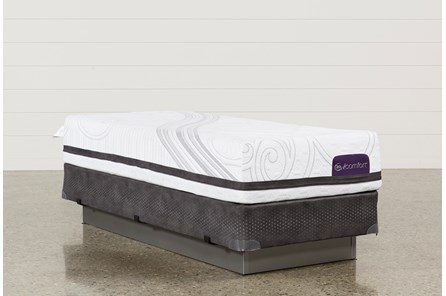 Savant III Firm Twin Extra Long Mattress W/Foundation - Main