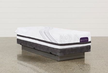 Savant III Firm Twin Extra Long Mattress W/Low Profile Foundation