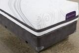 Savant III Firm Twin Extra Long Mattress W/Low Profile Foundation - Left