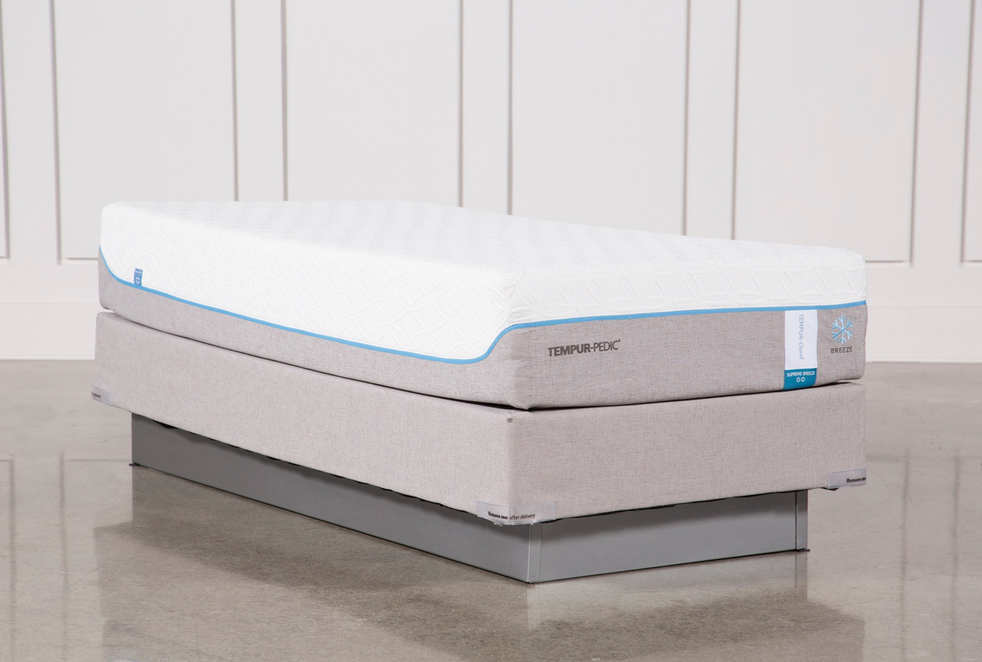 Tempur Pedic Cloud Supreme Breeze 2 0 Twin Xl Mattress W Foundation Qty 1 Has Been Successfully Added To Your Cart