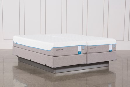 Tempur-Pedic Cloud Supreme Breeze 2.0 Eastern King Split Mattresses W/Foundation
