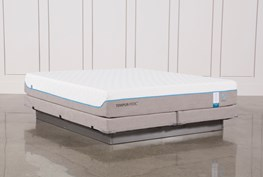 Tempur-Pedic Cloud Supreme Breeze 2.0 Eastern King Mattress W/Low Profile Foundation