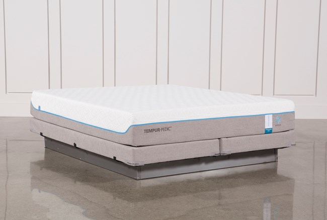 Tempur-Pedic Cloud Supreme Breeze 2.0 Eastern King Mattress W/Low Profile Foundation - 360
