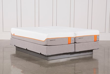 Tempur-Pedic Contour Elite Breeze 2.0 Eastern King Split Mattresses W/Foundation