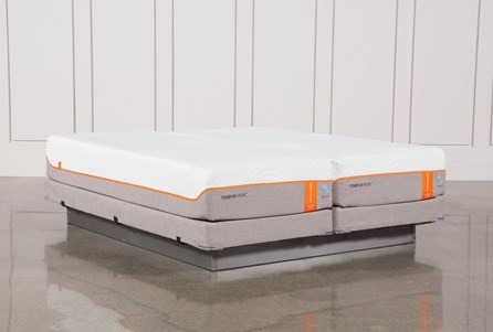 Tempur-Pedic Contour Elite Breeze 2.0 Eastern King Splt Mattresses W/Low Foundation