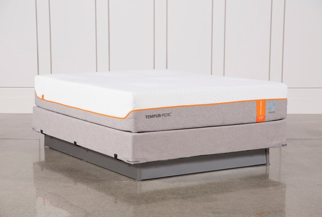 Tempur-Pedic Contour Elite Breeze 2.0 Queen Mattress W/Foundation - 360