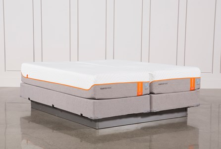 Tempur-Pedic Contour Elite Breeze 2.0 Cal King Split Mattresses W/Foundation