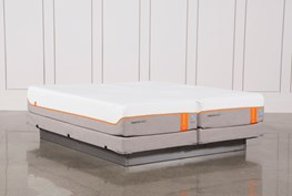 Tempur-Pedic Contour Elite Breeze 2.0 Cal King Split Mattresses W/Low Foundation