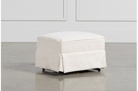 Bailey Skirted Glider Ottoman - Main