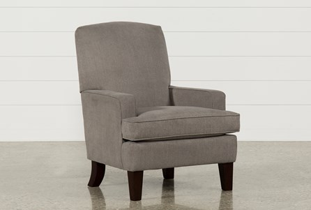 Bailey Track Arm Club Chair W/Espresso Finish