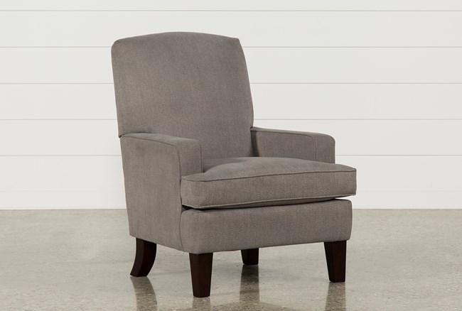Bailey Track Arm Club Chair W/Espresso Finish - 360
