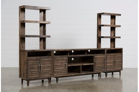 Thorndale 3 Piece Entertainment Center W/76 Inch Console - Main
