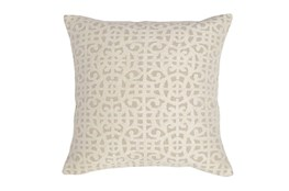 Accent Pillow-Ivory Small Gate 22X22