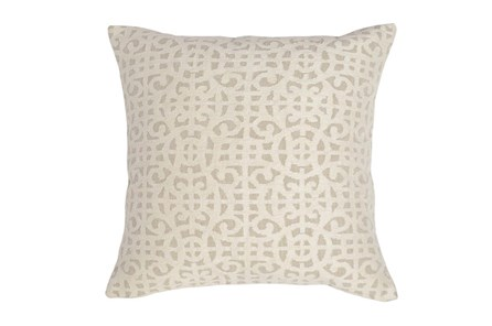 Accent Pillow-Ivory Small Gate 22X22 - Main