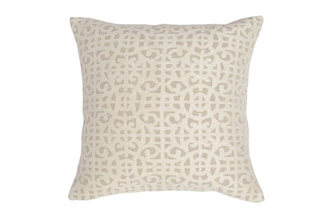 Accent Pillow-Ivory Small Gate 22X22 - 360