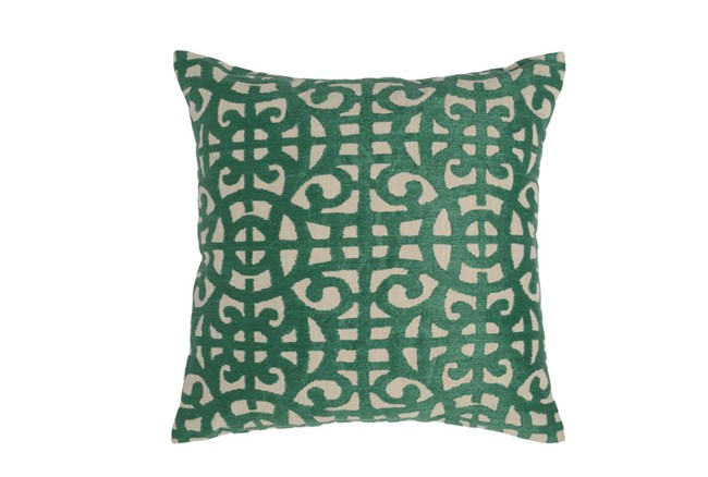 Accent Pillow-Green Small Gate 22X22 - 360