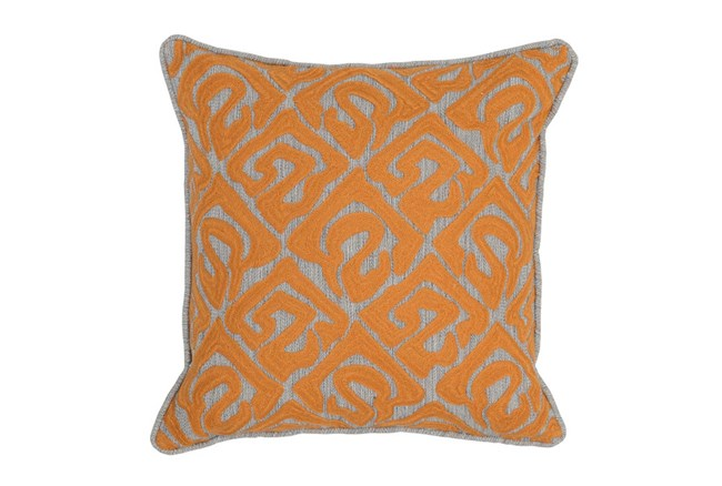 Accent Pillow-Mango Tribal Print 18X18 - 360