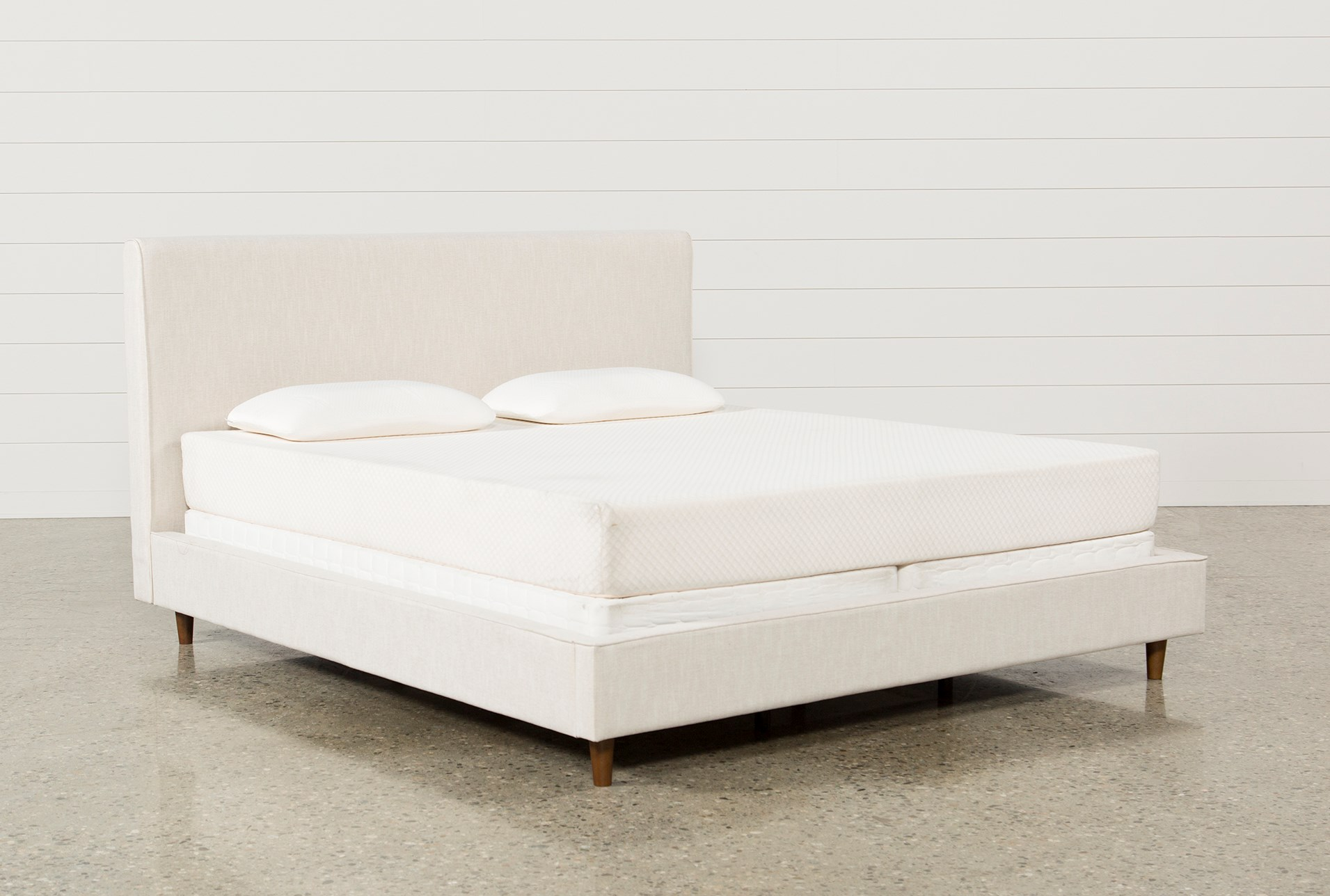 Dean Sand Eastern King Upholstered Panel Bed Qty 1 Has Been Successfully Added To Your Cart