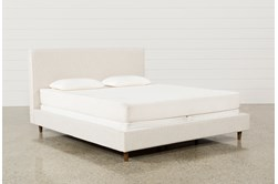 Dean Sand Eastern King Upholstered Panel Bed