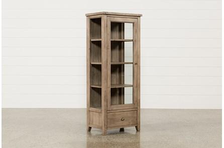 Brogan Ash Accent Cabinet - Main