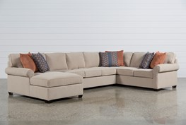 Camilla 3 Piece Sectional W/Laf Chaise